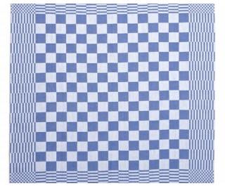Clarysse Theedoek Blok Mineur Blauw