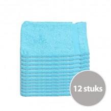 Clarysse Voordeelpakket Talis Washandje Aqua 12 stuks