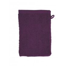 The One Washandje 450 gram 15 x 21 cm Plum